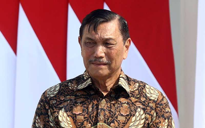 Menteri Koordinator Bidang Kemaritiman dan Investasi Luhut Binsar Pandjaitan. Bisnis - Abdullah Azzam