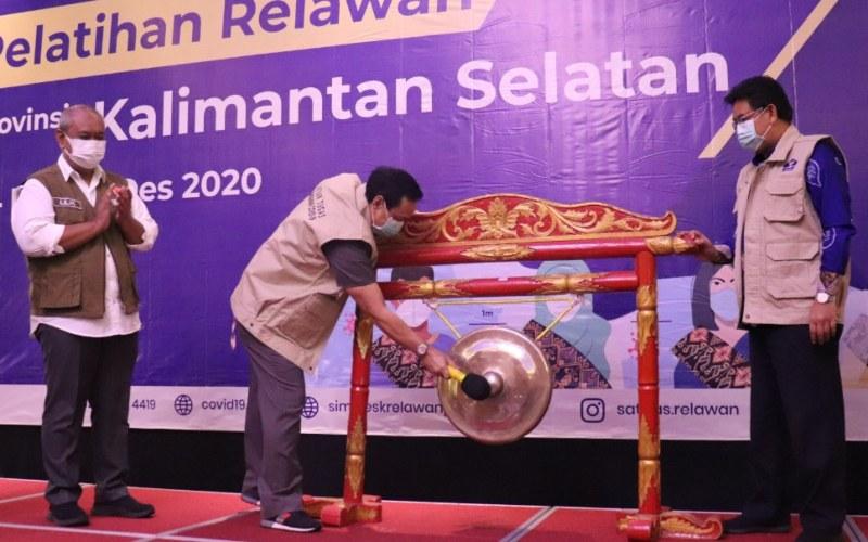 Pembukaan Pelatihan Relawan Covid-19 se-Provinsi Kalimantan Selatan di Banjarmasin, Kamis (26/11 - 2020) (Istimewa)