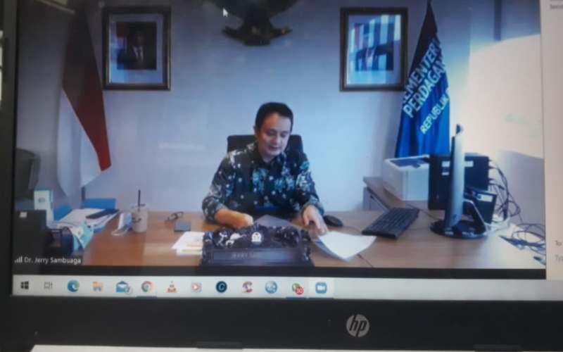 Wakil Menteri Perdagangan Jerry Sambuaga. - istimewa