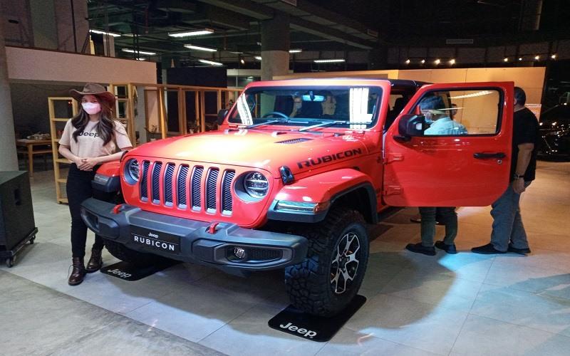 Peluncuran All New Jeep Wrangler Rubicon oleh Kalla Kars di Makassar, Rabu (25/11/2020)  -  Bisnis / Andini Ristyaningrum.