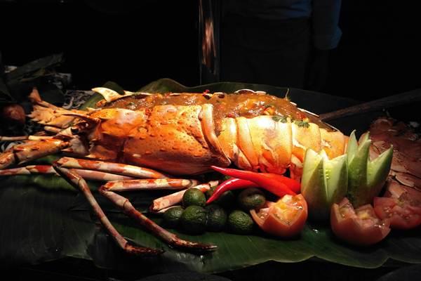Lobster betutu di Mandarin Oriental - Mia Chitra Dinisari