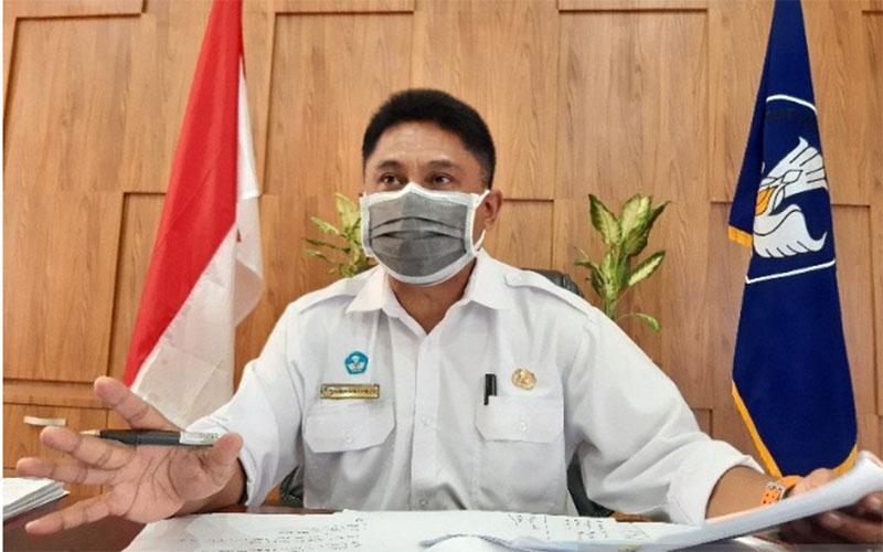 Kepala Dinas Pendidikan, Perpustakaan dan Arsip Daerah Provinsi Papua Christian Sohilait./Antara - Hendrina Dian Kandipi