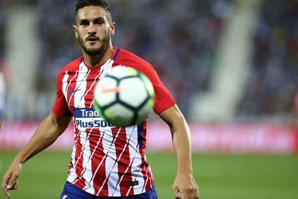 Gelandang Atletico Madrid Koke alias Jorge Resurreccion Merodio. Atletico menjadi satu-satunya tim yang belum terkalahkan di La Liga musim ini. - Twitter Atletico Madrid