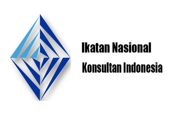 Logo Ikatan Nasional Konsultan Indonesia