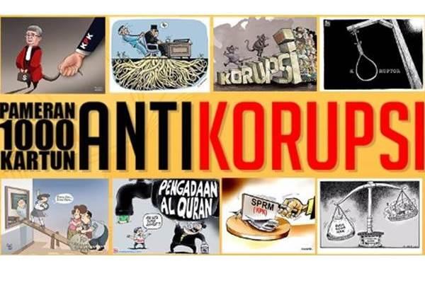 Kartun Antikorupsi - facebook