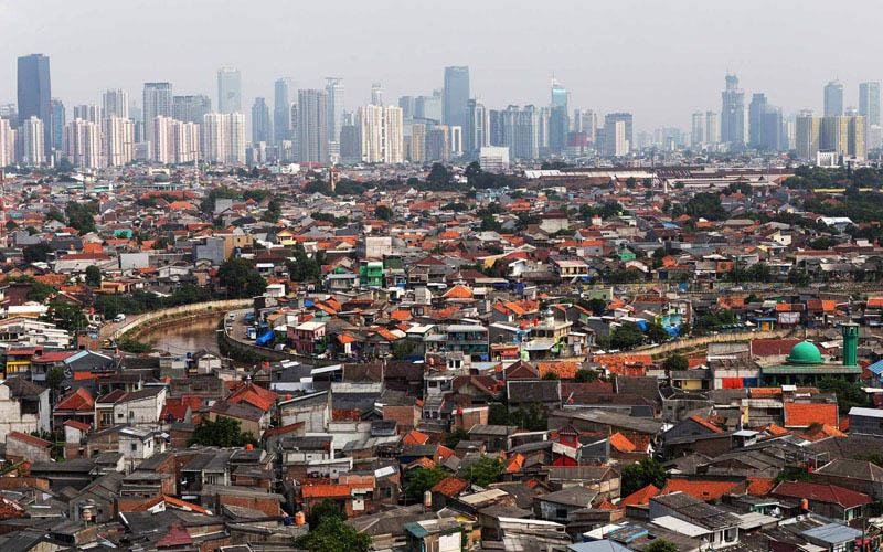 Wajah Jakarta./Bloomberg - Muhammad Fadli