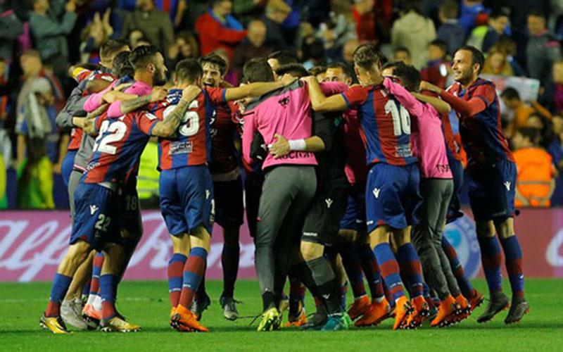Tim La Liga Spanyol Levante / Reuters - Heino Kalis