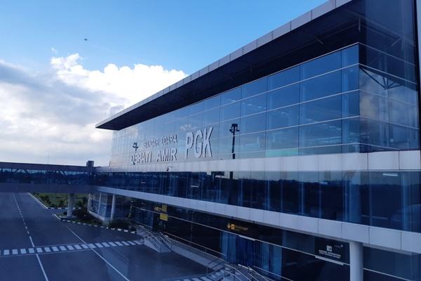 Bandar Udara Depati Amir, Pangkalpinang, Bangka Belitung. - Bisnis/Istimewa