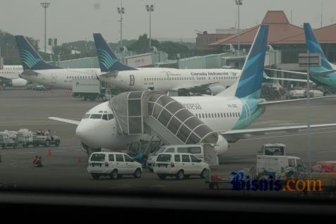 Ilustrasi maskapai penerbangan