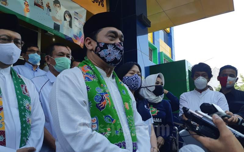 Wakil Gubernur DKI Jakarta Ahmad Riza Patria - Bisnis/Nyoman Ary Wahyudi