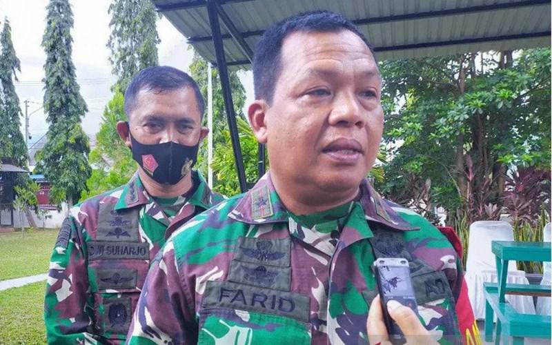 Komandan Korem 132/Tadulako Brigadir Jenderal TNI Farid Makruf - Antara