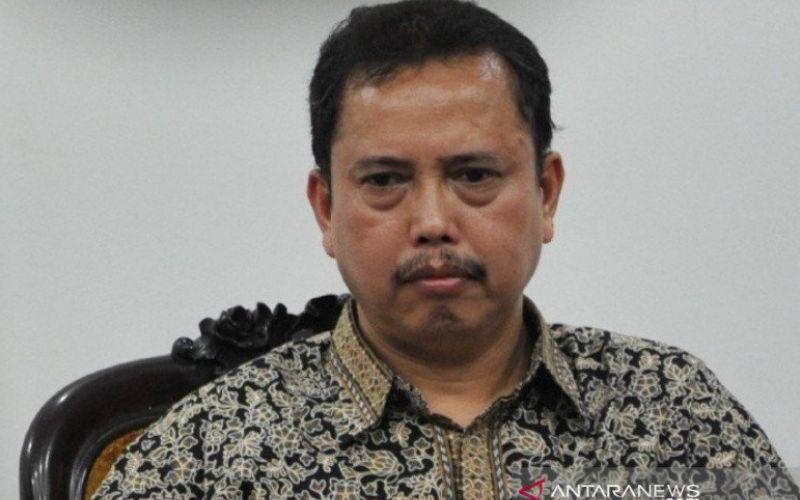 Ketua Presidium Indonesia Police Watch (IPW) Neta S Pane. ANTARA FOTO/Andika Wahyu - pras.