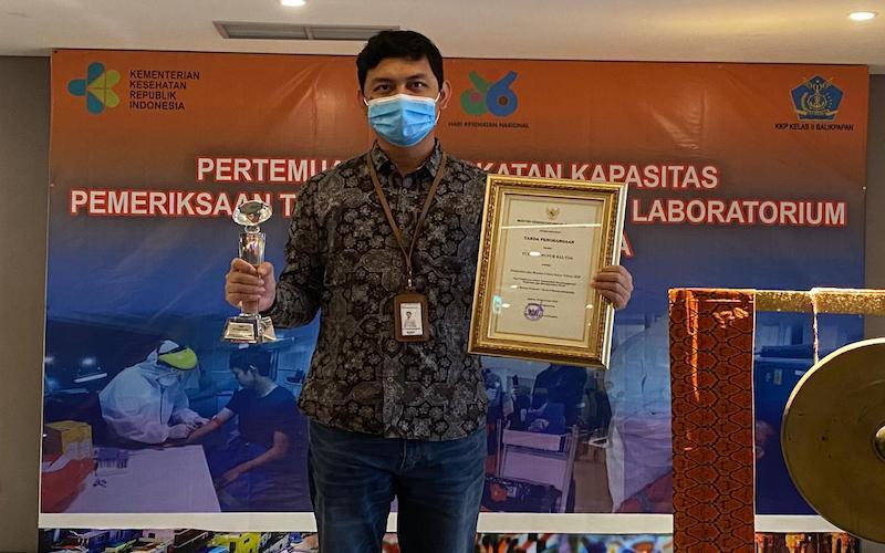 Pelabuhan Pupuk Kaltim ditetapkan sebagai salah satu dari 8 pelabuhan sehat di Indonesia tahun 2020 berdasarkan kriteria Kementerian Kesehatan yang dinilai memenuhi seluruh unsur penyelenggaraan pelabuhan sehat. - JIBI/Istimewa
