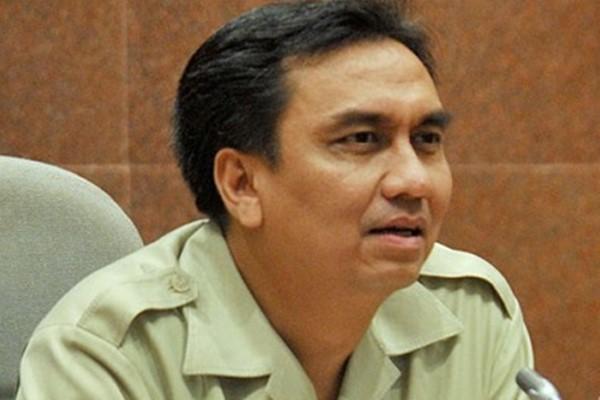 Anggota Komisi I DPR dari Fraksi PDI Perjuangan, Effendi Simbolon - Antara