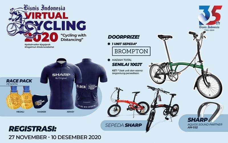 Bisnis Indonesia Virtual Cycling 2020
