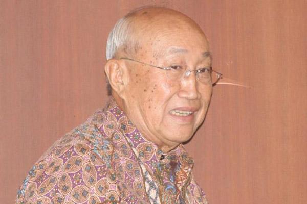 Ketua Dewan Pertimbangan Asosiasi Pengusaha Indonesia (Apindo) Sofjan Wanandi.  - Bisnis/Abdullah Azzam