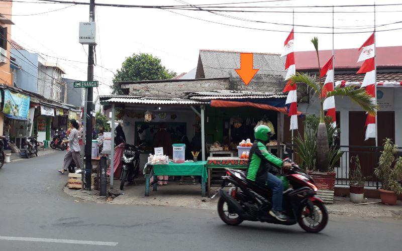Foto rumah murah sitaan BNI di Jalan Kalisari II Rt.001 Rw.02, Kel. Kalisari, Kec. Pasar Rebo, Jakarta Timur.