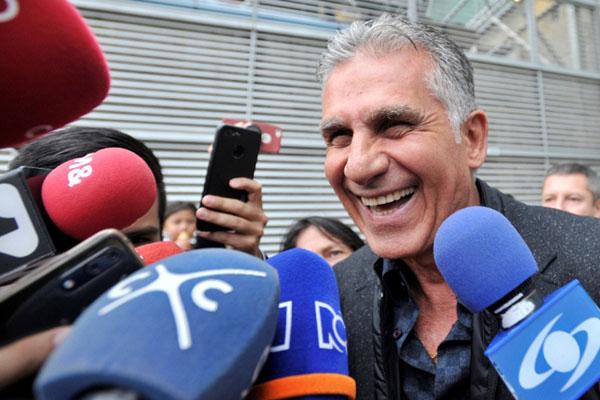 Carlos Queiroz - Reuters/Carlos Julio Martinez