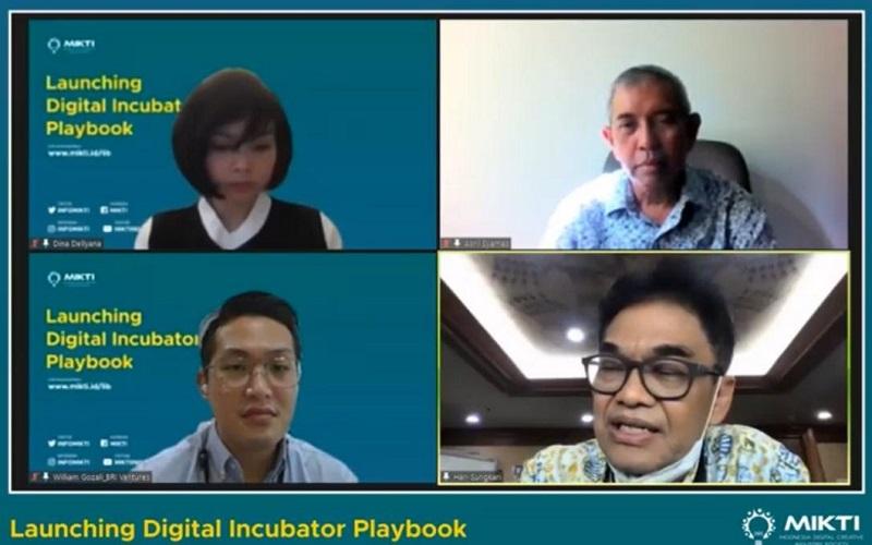 Peluncuran Digital Incubator Playbook Masyarakat Industri Kreatif Teknologi Indonesia (MIKTI)