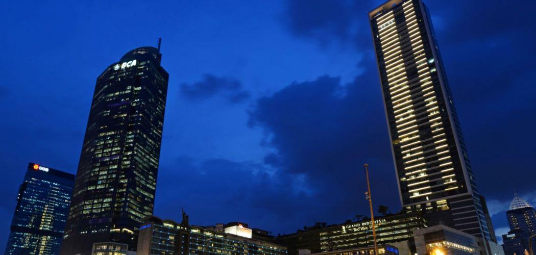 Kantor pusat PT Bank Central Asia Tbk. (BBCA) di Jakarta, Indonesia. - Bloomberg/Dimas Ardian