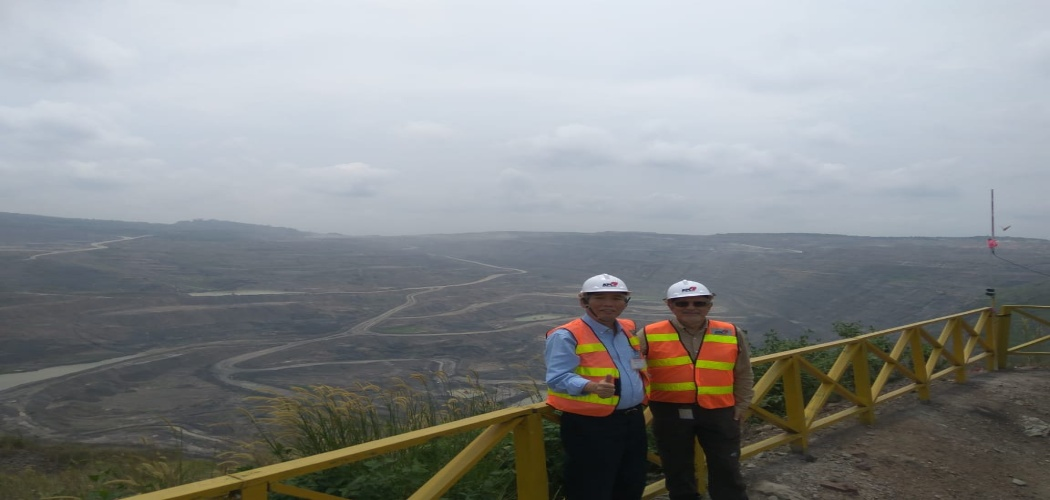 Lo Kheng Hong di Tambang Batu Bara Kaltim Prima Coal (KPC)