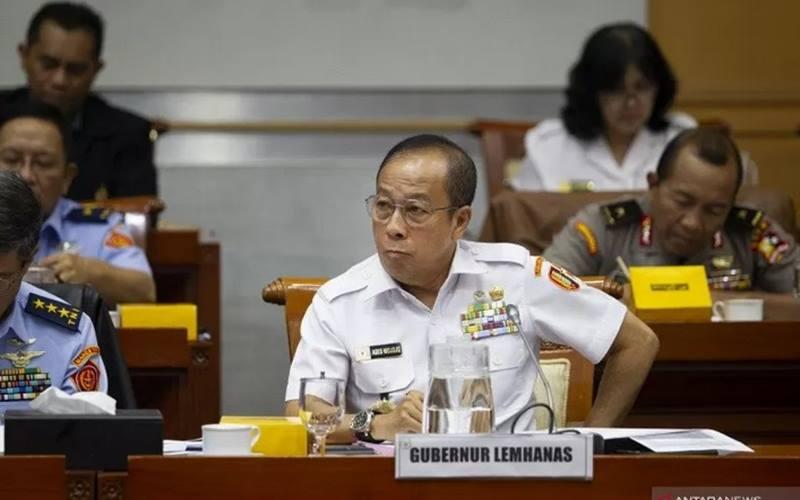Gubernur Lemhanas Letjen TNI (Purn) Agus Widjojo. - Antara\r\n