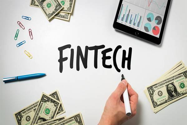 Ilustrasi teknologi finansial - Flickr