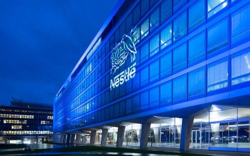 Kantor Pusat Netsle di Vevey, Swiss.  - Nestle