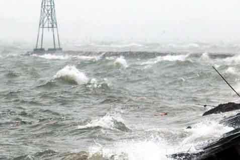 ilustrasi gelombang laut