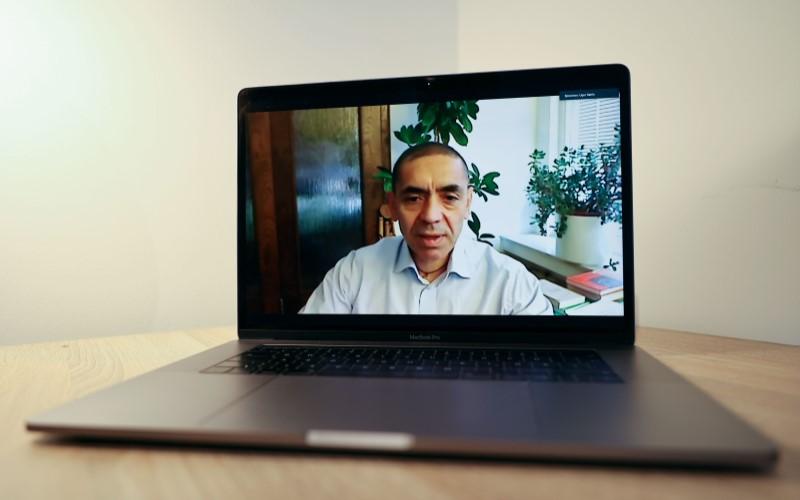 Salah satu pendiri BioNTech, Ugur Sahin - Bloomberg