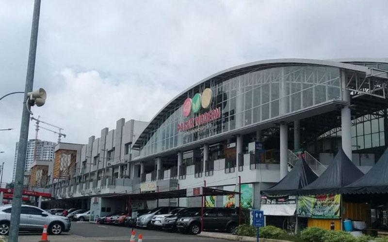 Pasar Modern BSD City.  -  Antara