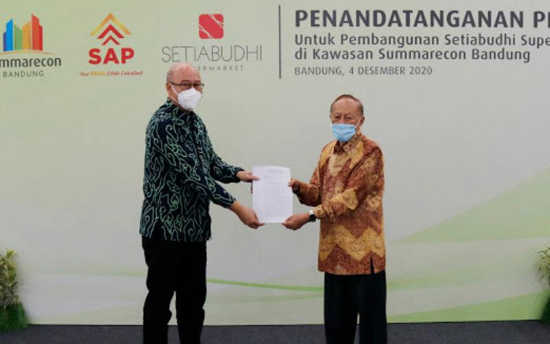Tambah Fasilitas, Setiabudhi Supermarket Hadir di Summarecon Bandung - Istimewa