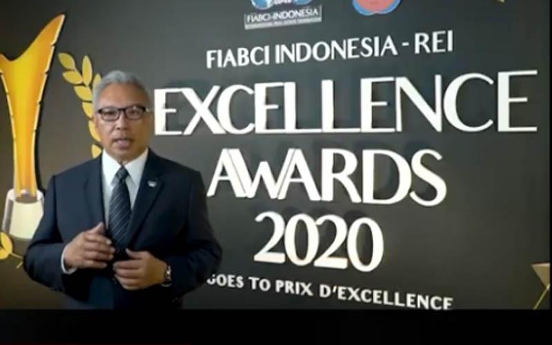 Presiden FIABCI Indonesia Budiarsa Sastrawinata. - DPP REI