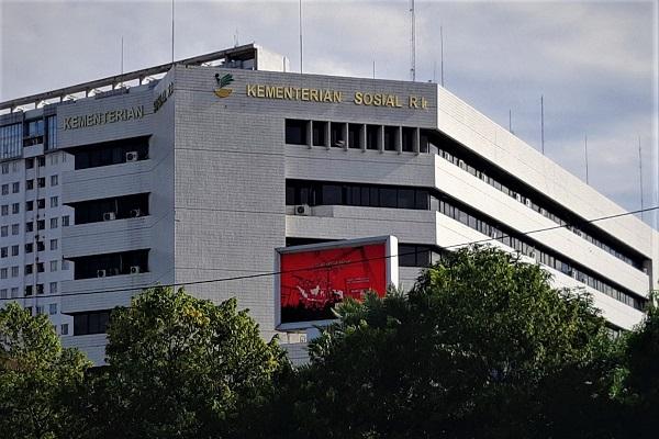 Gedung Kementerian Sosial Republik Indonesia di Jakarta. -Bisnis.com - Samdysara Saragih
