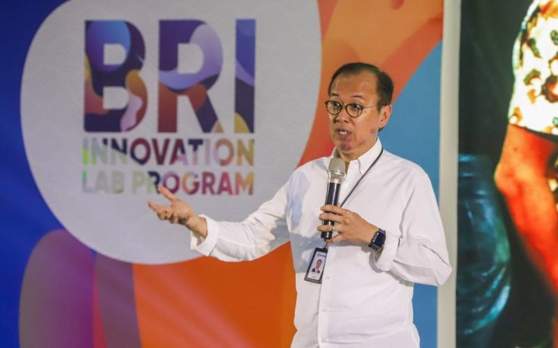 Direktur Digital, Teknologi Informasi dan Operasi BRI Indra Utoyo - Istimewa