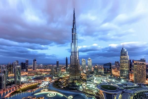 Burj Khalifa, properti monumental karya Emaar Properties. - Istimewa