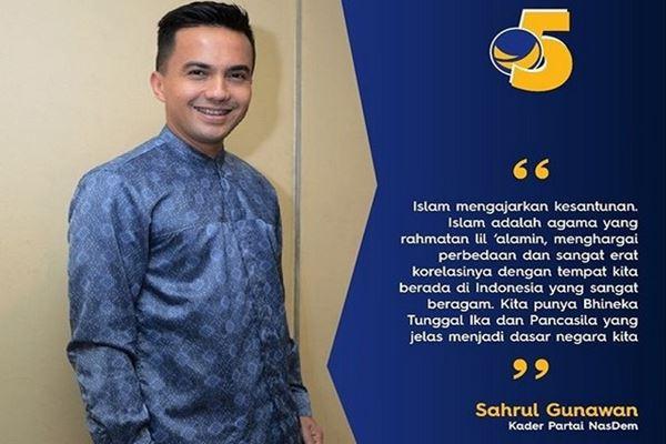 Sahrul Gunawan - Instagram @official_nasdem