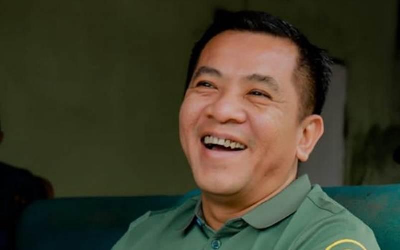Haji Aep alias Aep Aep Syaepulloh, calon wakil Bupati Karawang. - Istagram