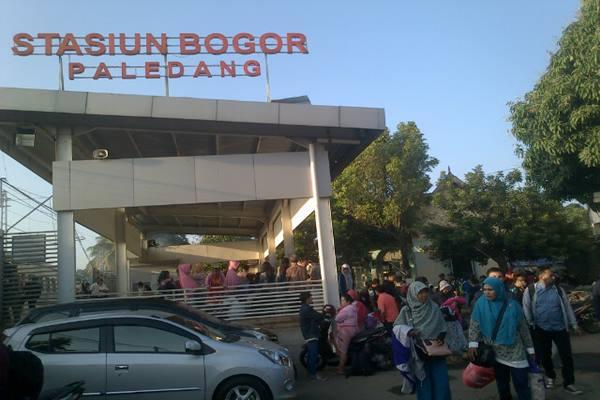 Stasiun Kereta Api Paledang Bogor - Bisnis.com/Miftahul Khoer