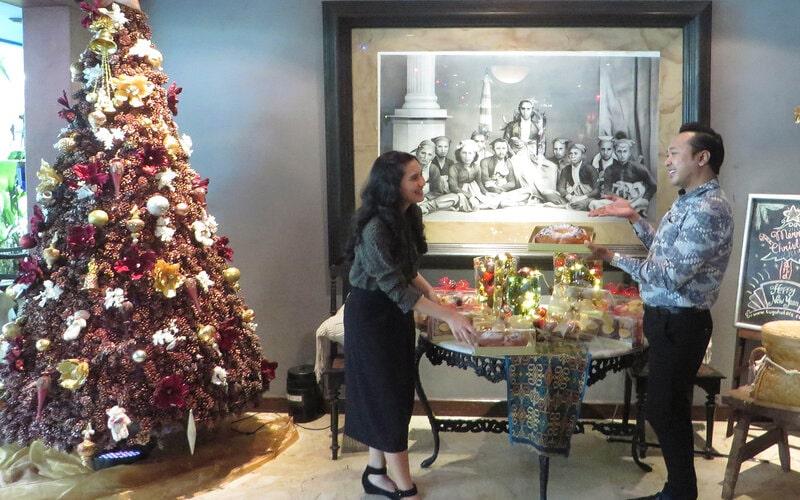 Kemeriahan perayaan Natal 2020 sudah tampak di Hotel Tugu Malang. - Istimewa