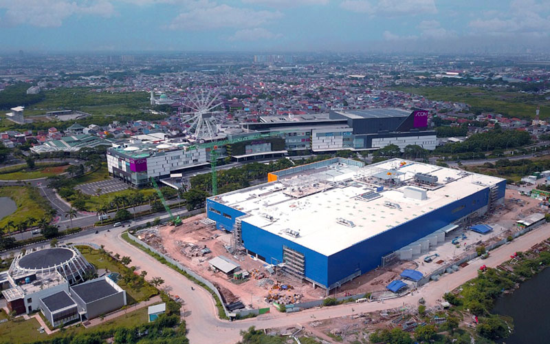 Investor global terlibat dalam pengembangan Jakarta Garden City. - Istimewa