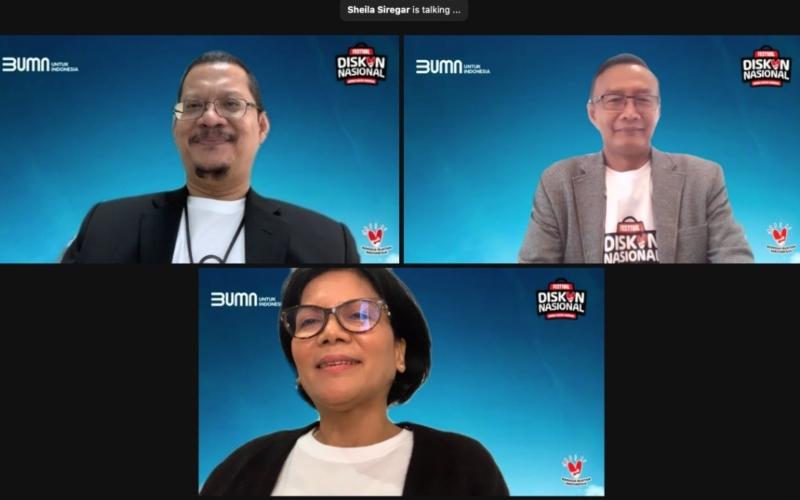 Konferensi Pers Festival Diskon Nasional, Selasa (15/12/2020) - Istimewa