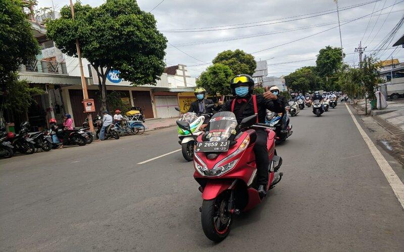City touring yang diadakan oleh PT. Mitra Pinasthika Mulia ( MPM Honda Jatim) selaku distributor sepeda motor Honda wilayah Jatim dan NTT.