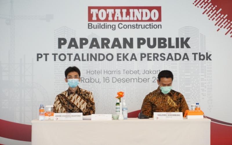 TOPS Totalindo Eka Persada (TOPS) Bidik Kontrak Baru Rp1,5 Triliun pada 2021 - Market Bisnis.com