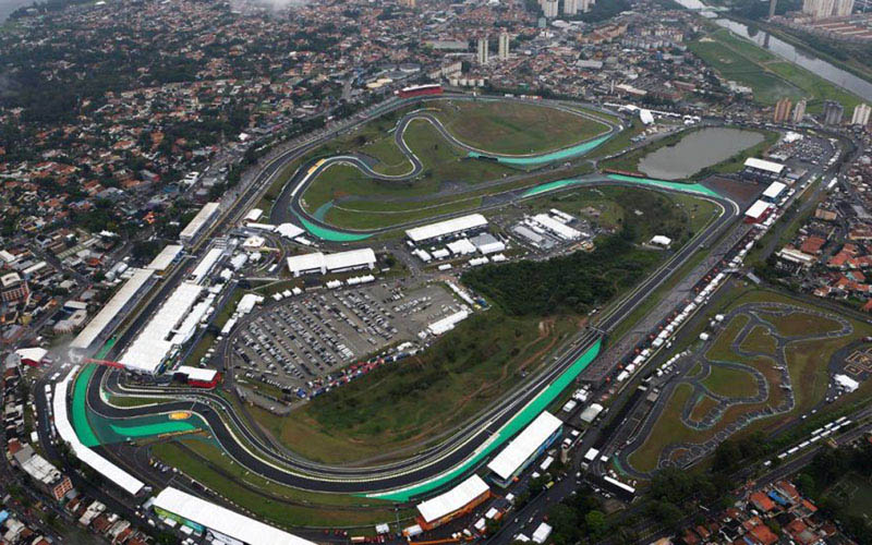 Sirkuit Interlagos (Autodromo Jose Carlos Pace) di Sao Paulo, Brasil. - Scuderia Ferrari Club Riga