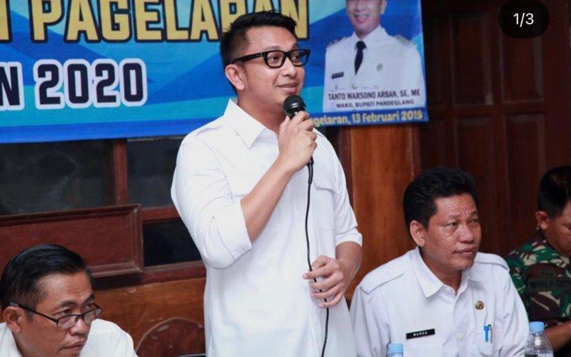 Wakil Bupati Pandeglang Tanto Warsono Arban / Instagram