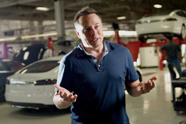 Bos Tesla Elon Musk.  - Bloomberg