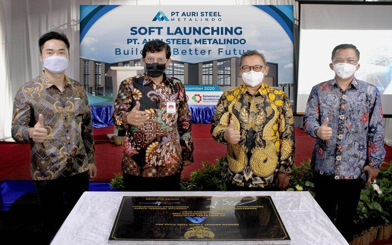 Soft launching Auri Steel Metalindo.