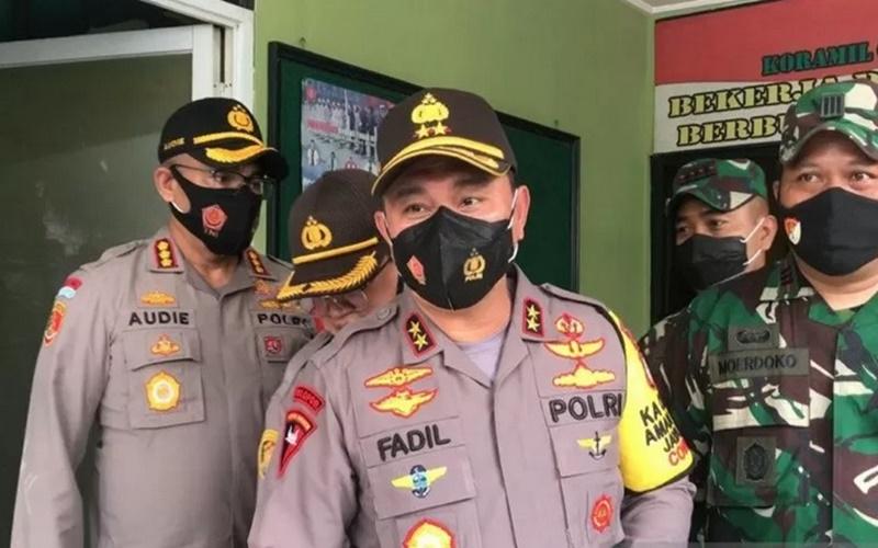 Kapolda Metro Jaya Irjen Pol Fadil Imran di Mapolda Metro Jaya, Kamis (17/12/2020). - Antara\r\n
