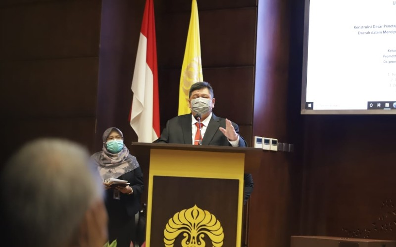 Kepala Badan Pengawasan Keuangan dan Pembangunan (BPKP) Muhammad Yusuf Ateh